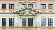 detail of the Romanushaus façade